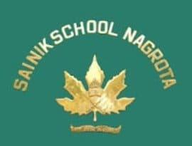 sainik school nagrota logo